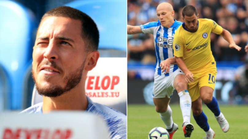 Eden Hazard's 14-Minute Cameo Against Huddersfield Was Absolutely Ridiculous