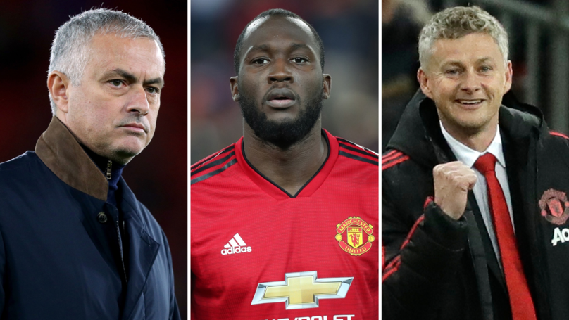 Romelu Lukaku Highlights One 'Big Difference' Between Jose Mourinho And Ole Gunnar Solskjær