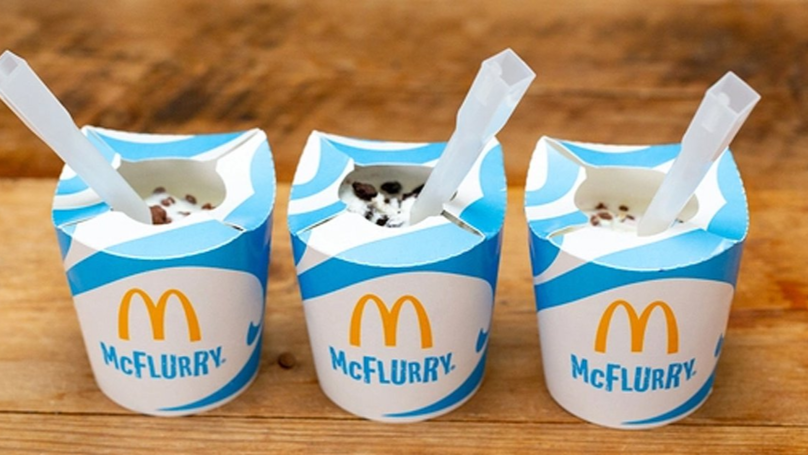 McDonald's Confirms It Will Stop Using Plastic Lids For McFlurry Packaging