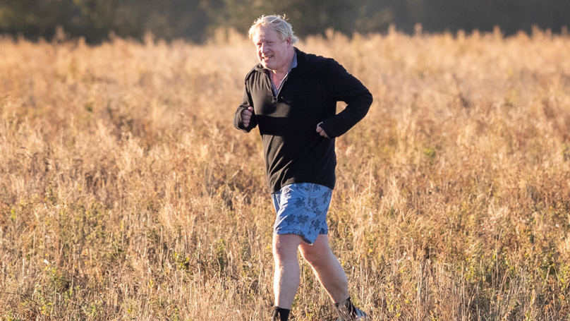 Boris Johnson Runs Through Field Of Wheat To Troll Theresa May