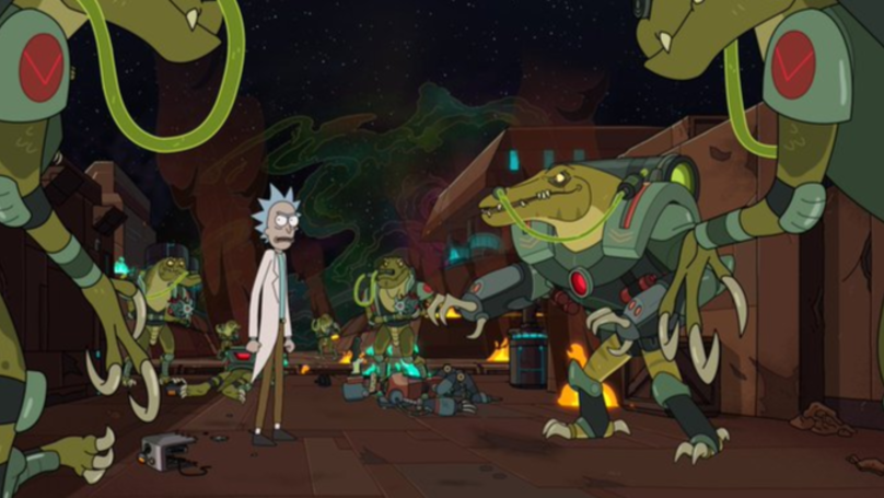 ​Check Out The First Images From Rick And Morty Season 4