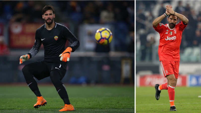 Gianluigi Buffon Heaps Praise On Liverpool Target Alisson