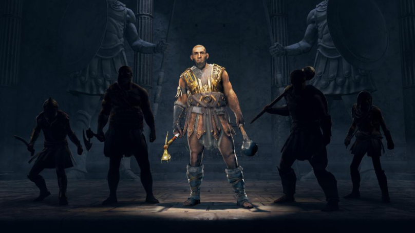 'Assassin's Creed Odyssey' Is Getting A Mercenary Called Testiklos The Nut