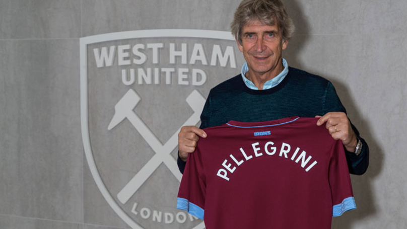 West Ham Appoint Manuel Pellegrini As New Manager