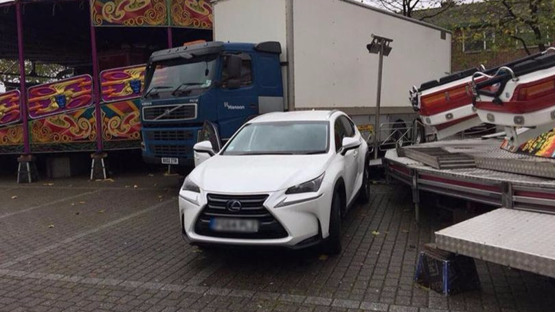 LAD Leaves Car In Town After Night Out, Returns To Find Fun Fair Built Around It