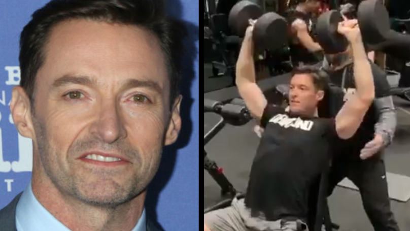 Hugh Jackman Posts Gym Video And Now People Think Wolverine Is Returning