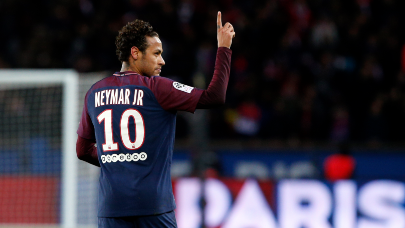 Neymar Is The Second Player To Get A 10/10 Rating From L'Equipe For A Ligue One Game