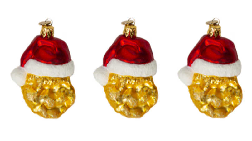 McDonald's Has Created Chicken Nugget Christmas Decorations