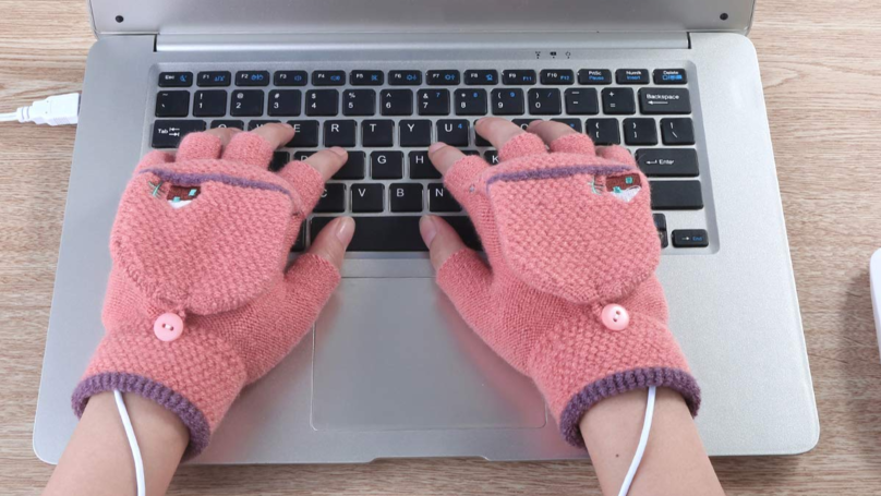 You Can Now Get Heated Gloves So You'll Never Be Cold In The Office Again