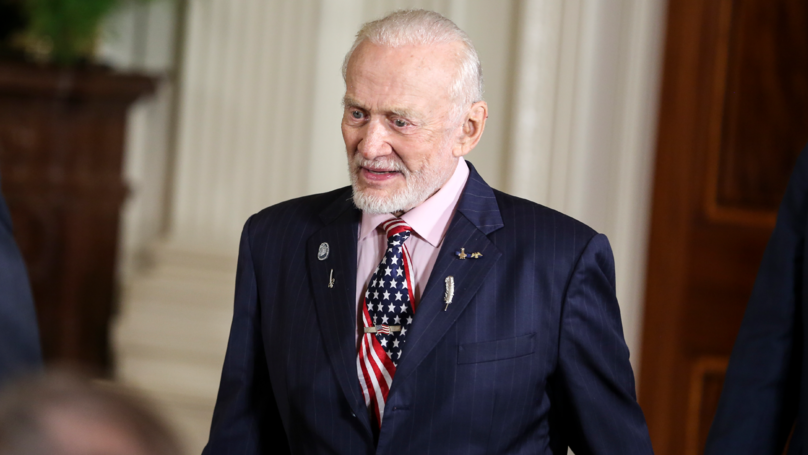 Buzz Aldrin Just Turned 89, He Once Punched A Moon Conspiracy Theorist In The Face