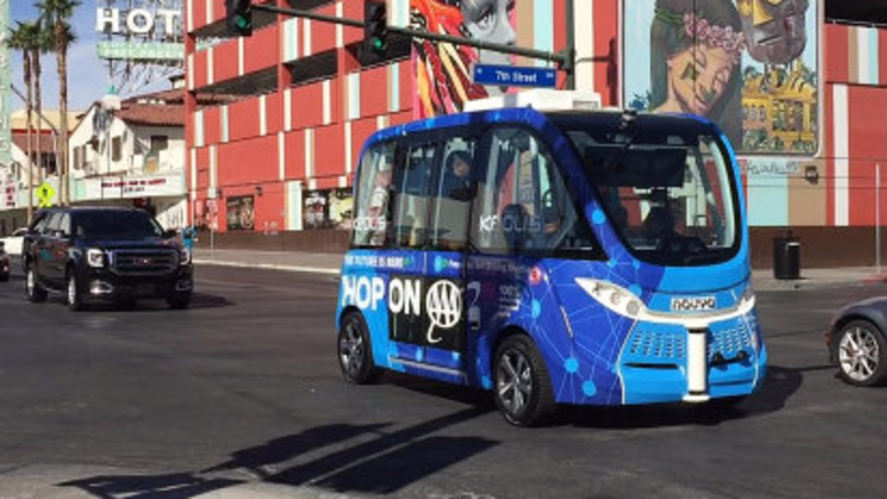 Self-Driving Bus Crashes On First Day Of Service in Las Vegas