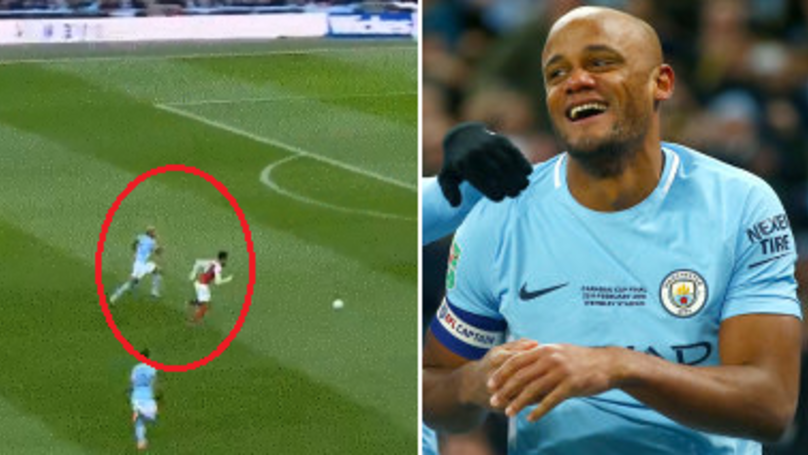 Reporter Asks Kompany About Outpacing Aubameyang, His Reaction Is Brilliant