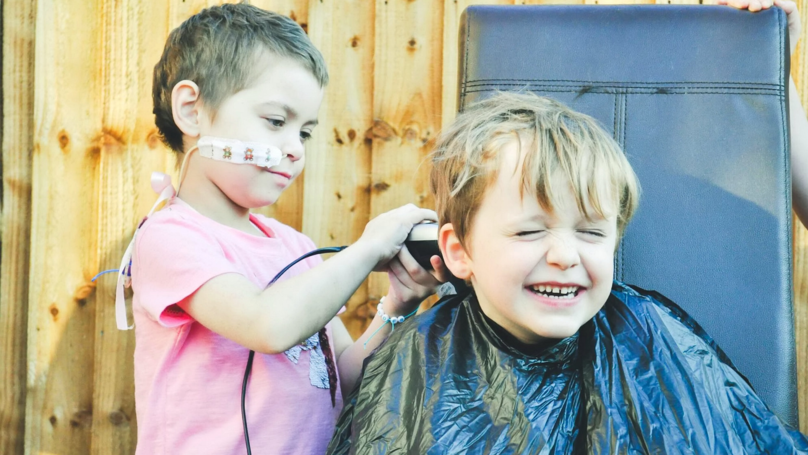 Boy, 6, Shaves Head To Be Just Like Best Friend With Cancer
