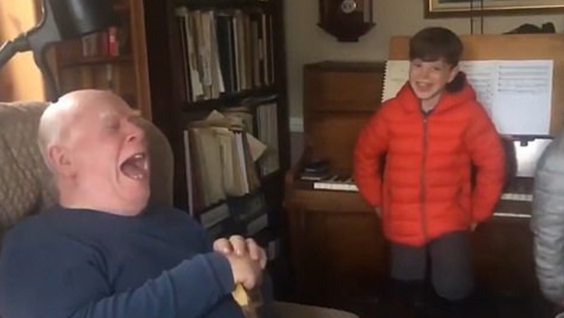 Video Of Boys Teaching Grandad How To Make Alexa Fart Goes Viral