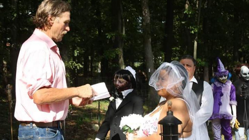 Woman Says She's 'Never Felt Happier' After Marrying Zombie Doll