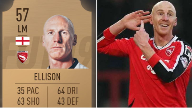 'Yer Da' Kevin Ellison Responds To Having 35 Pace On FIFA 19
