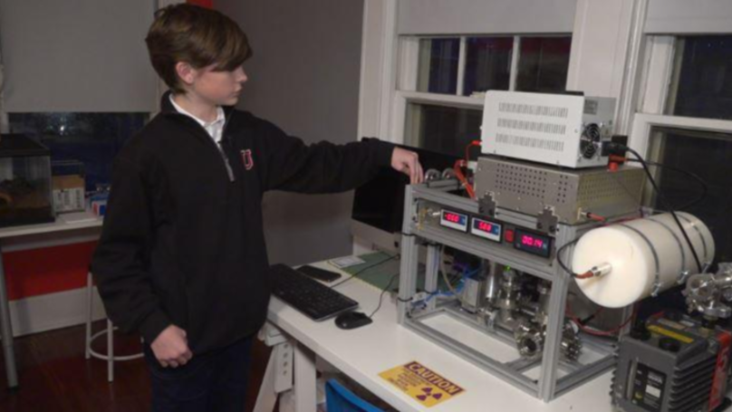 Schoolboy Builds Working Nuclear Fusion Reactor At Home