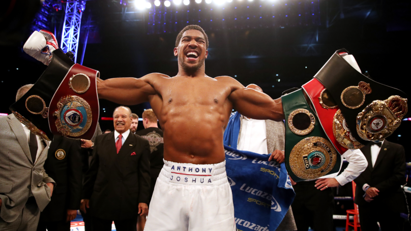 Anthony Joshua Wants Deontay Wilder Or Tyson Fury Fight