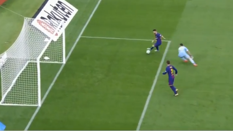 Lionel Messi Makes Las Palmas Goalkeeper Look Foolish