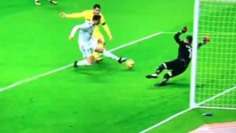 Cristiano Ronaldo Missed A Simple Tap-In, This Afternoon