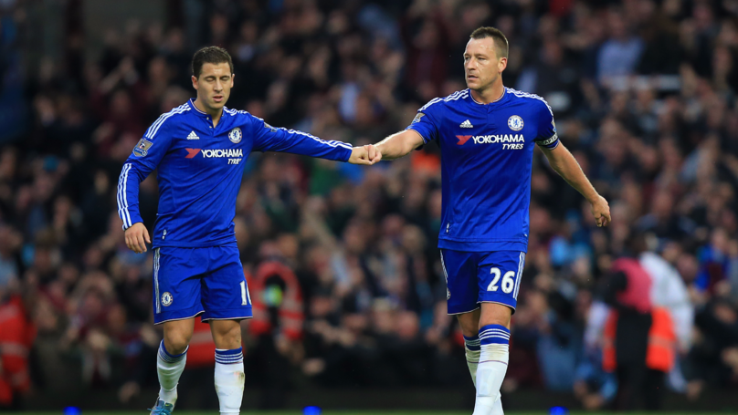 Eden Hazard Names Who He Thinks Should Take Over From John Terry