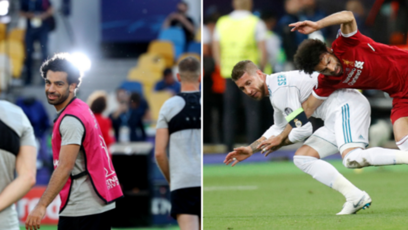 Mo Salah Responds To Sergio Ramos' Comments Following Champions League Clash