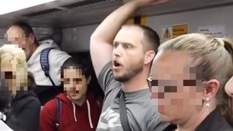 American Christian Preacher Savaged By Commuters On Sydney Train