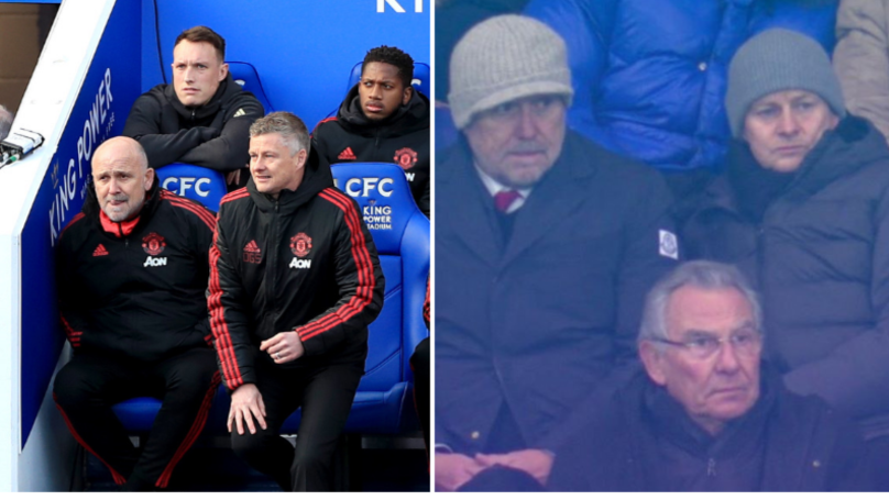 Ole Gunnar Solskjaer Watches Lyon-PSG Hours After Leading Man United To Win Over Leicester