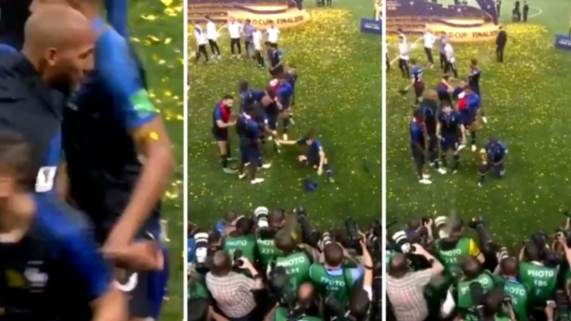 N'Golo Kante Had To Be Encouraged To Celebrate After World Cup Win