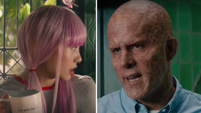 Deadpool's Just Released A Never Aired Scene And It's Hilarious