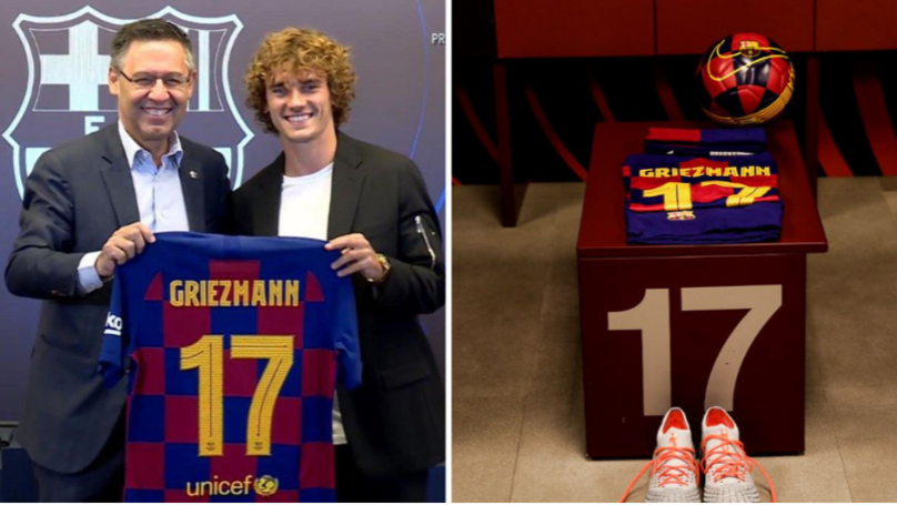 Antoine Griezmann Will Not Take The No.7 Shirt At Barcelona