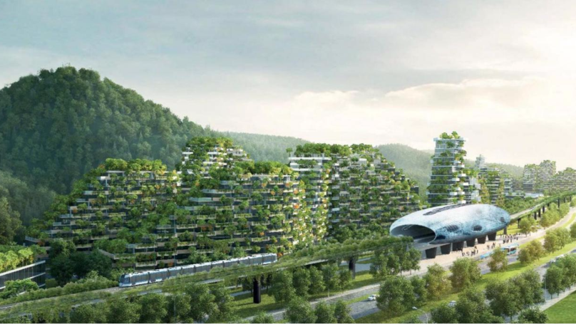 China Is Building World's First 'Forest City' With 40,000 Trees To Tackle Pollution Problems