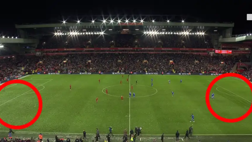Jurgen Klopp Orders Ground Staff To Only Clear Liverpool's Attacking Side Of The Pitch