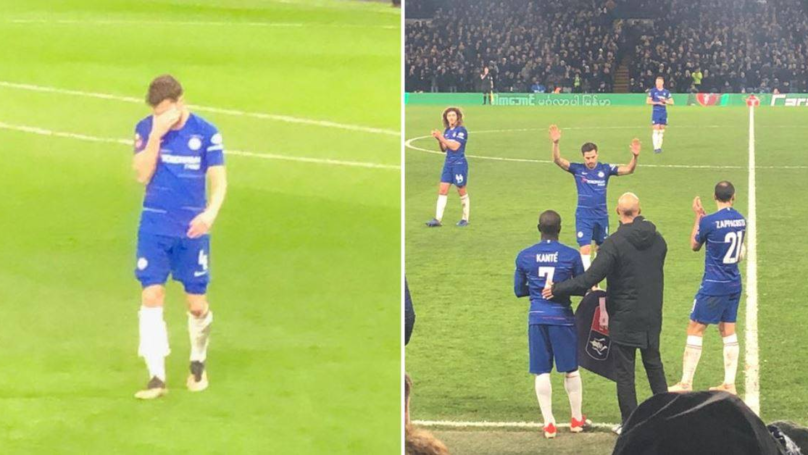Cesc Fàbregas Leaves Pitch In Tears After Making His Final Appearance For Chelsea