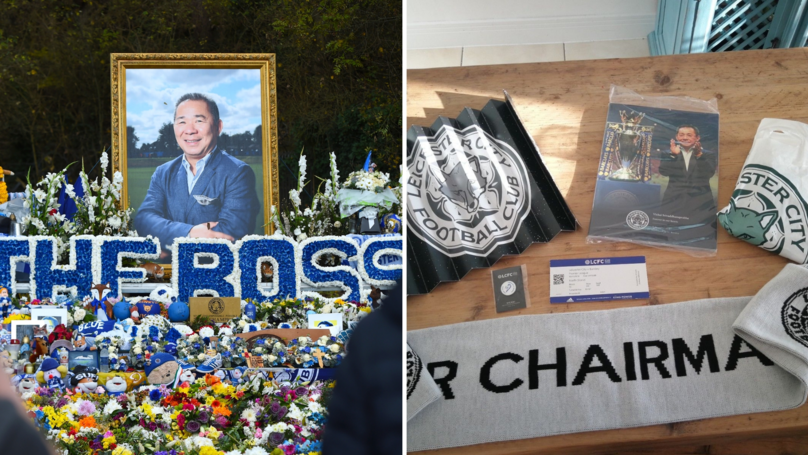 Fans Blasted For Posting Leicester City's Vichai Srivaddhanaprabha Tribute Memorabilia On eBay