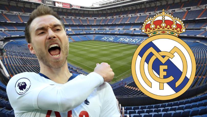 Tottenham's Christian Eriksen 'Verbally Agrees' To Join Real Madrid