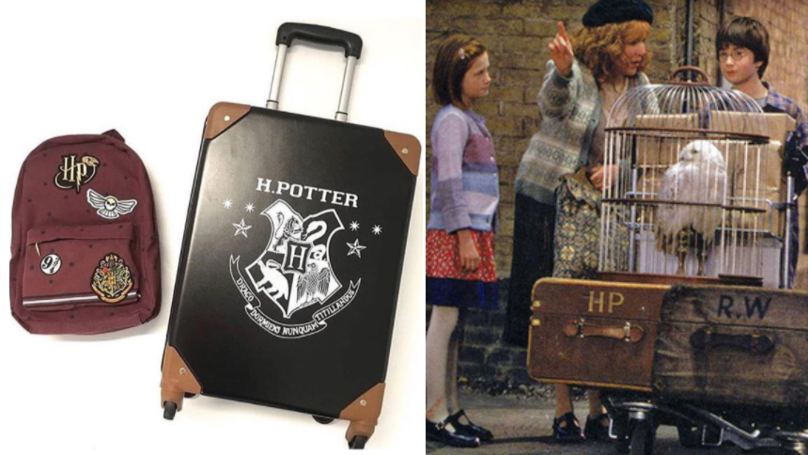 Primark's Harry Potter Suitcases Are Fit For Any Witch Or Wizard This Summer