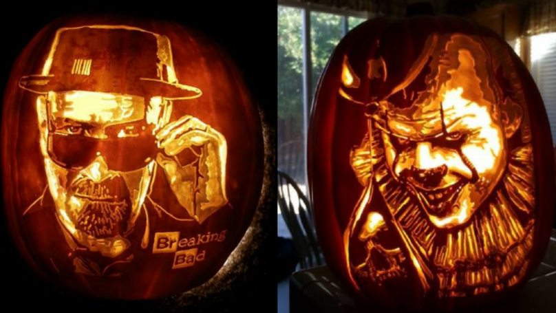 Looks Like There's A New Pumpkin-Carving Champion This Halloween
