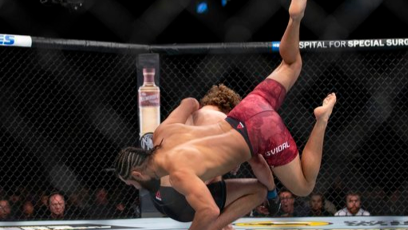 Jorge Masvidal Scores Fastest KO In UFC History After Defeating Ben Askren In Five Seconds