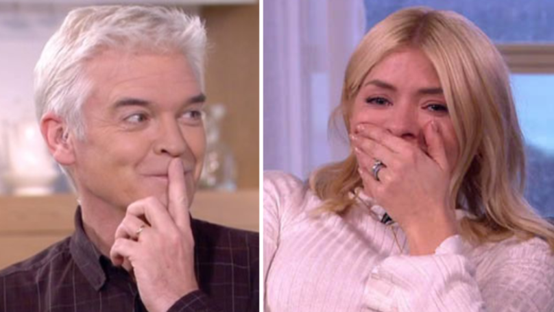 WATCH: Phillip Schofield Flashes His Bum In Snapchat Video