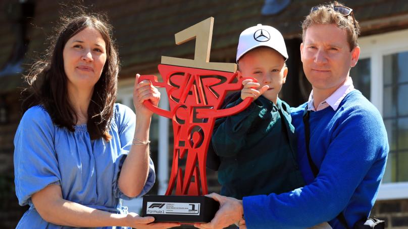 Lewis Hamilton Sends Formula 1 Car To Terminally Ill Child's House