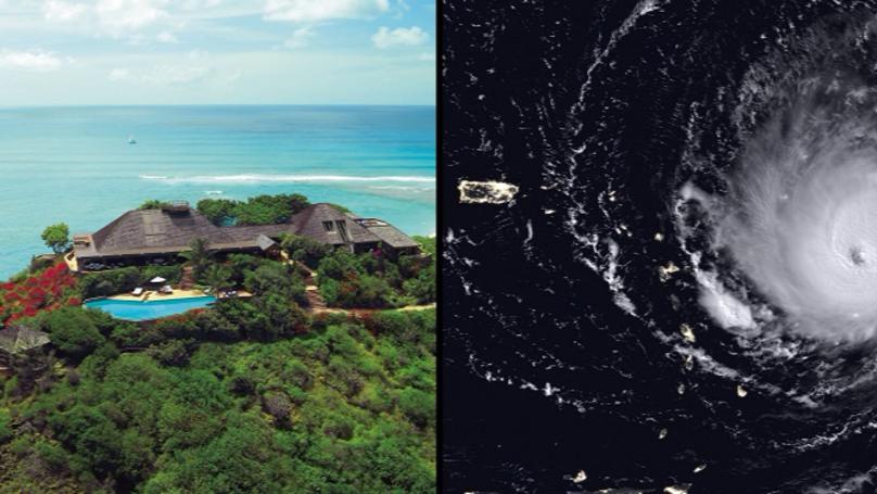 Sir Richard Branson's Necker Island Destroyed In Hurricane Irma
