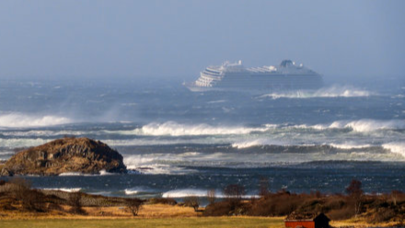 Hundreds Airlifted From Stranded Cruise Ship Amid Rough Seas Off Norway Coast