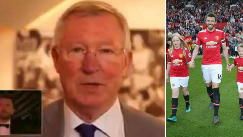Sir Alex Ferguson Appears In Michael Carrick's Touching Tribute Video