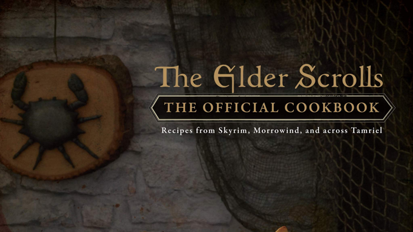 Bethesda's Official 'The Elder Scrolls' Cookbook Is Sweetrolling Out This March