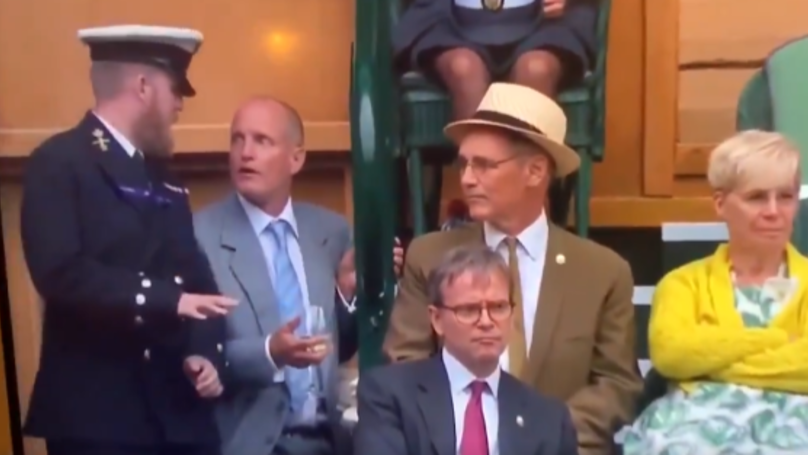 Woody Harrelson Trying To Return To Seat At Wimbledon Is 'Huge Mood'