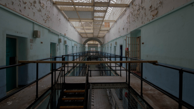 Photographer Captures Chilling Shots Of 'Britain's Most Haunted' Prison