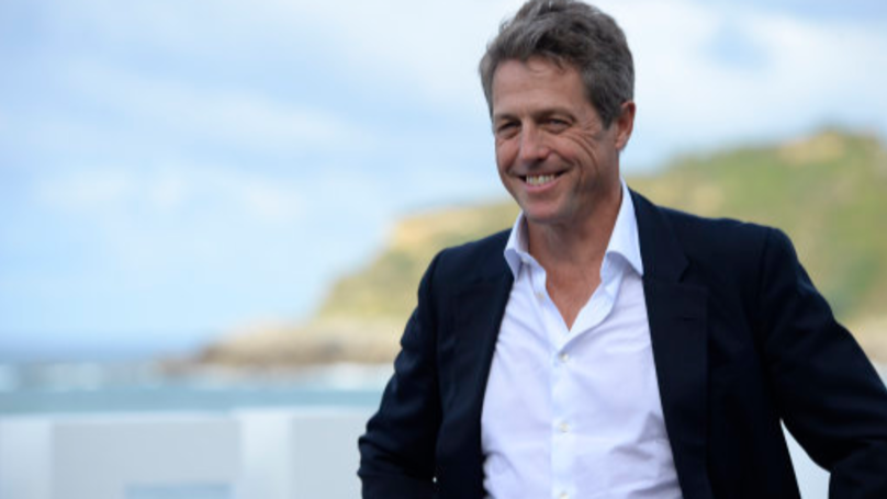 Hugh Grant Drinks From Shoe On Boozy Oxford Night Out