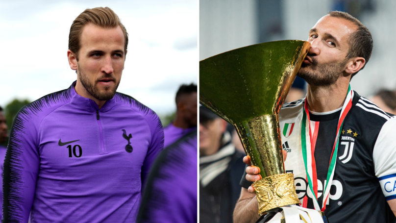 Harry Kane Names Giorgio Chiellini As The Toughest Opponent He Has Faced
