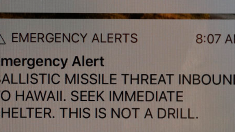 Employee Who Sent Out Hawaii Missile Alert Thought Attack Was Real